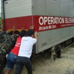 Aid Arrives in Nueva Ecija