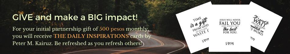 GIVE and make a BIG impact!