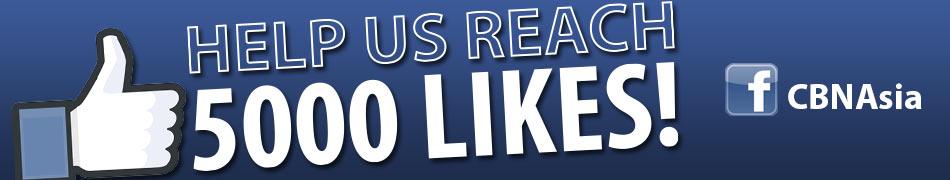 Help us reach 5,000 LIKES!