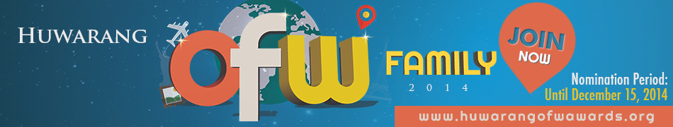 Search for the 1st Huwarang OFW Award Launched