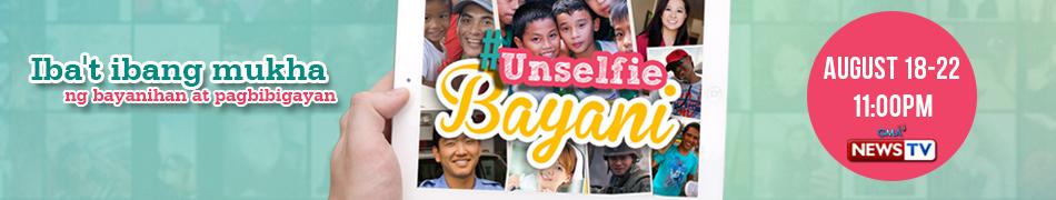 Unselfie Bayani