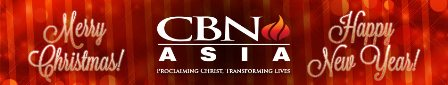 Merry Christmas from CBN Asia!
