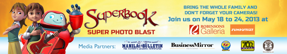 Superbook Super Photo Blast on May 18-25 at the Robinsons Galleria Jumpstreet