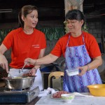 Chef Rosebud Whips Up Healthy Dishes in Payatas