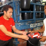 Sarangani Receives Relief and Prayers
