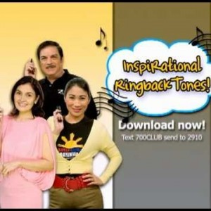Get Inspiring Ringback Tones from The 700 Club Asia