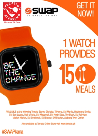 Buy A Watch, Feed A Child