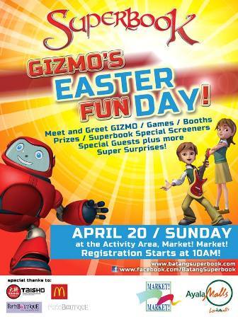 Gizmo's Easter Fun Day Happening at Market! Market!