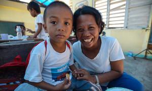 Operation Blessing Conducts Tummy-filling, Soul-lifting Feeding Program in Eastern Samar