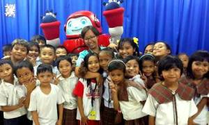 Superbook Rocks Three Schools in Muntinlupa