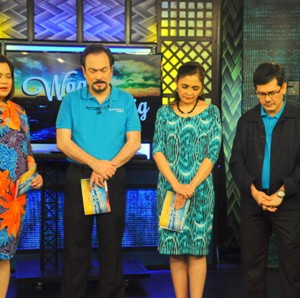 The 700 Club Asia hosts pray for the families of the Fallen 44 PNP SAF, the nation, and the leaders of our country.