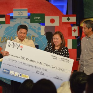 CBN Asia Honors the Huwarang OFWs