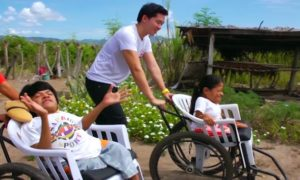 Operation Blessing Wheelchair Distribution Program brings Hope to Deroy Siblings