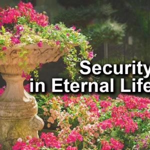 Security in Eternal Life