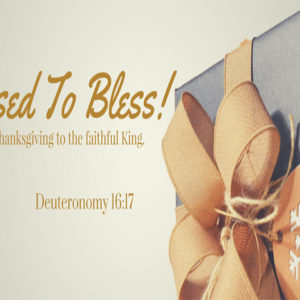 Blessed to Bless | CBN Asia Family of Ministries