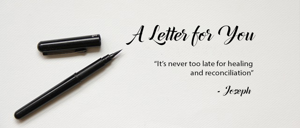A Letter for You from Joseph