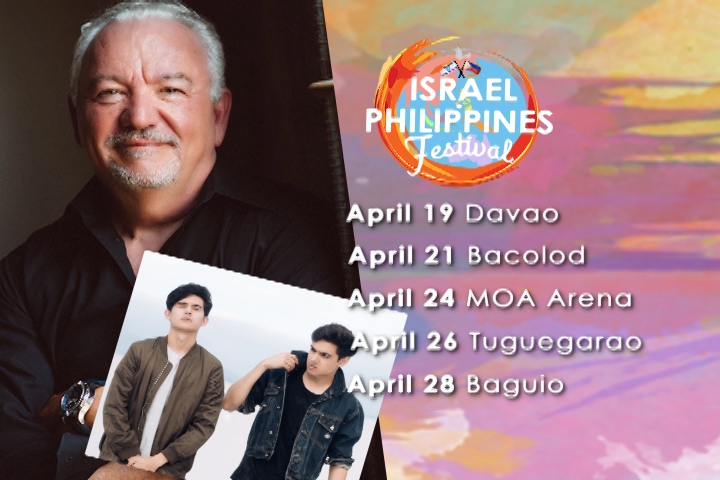 Israel-Philippines Festival Schedule