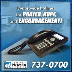 Call the Prayer Center 737-0-700