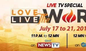 Love the Word Live the Word Live TV Special