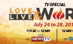 Love the Word Live the Word TV Special