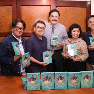 NCCT received the 1st Oyayi DVD sets from CBN Asia