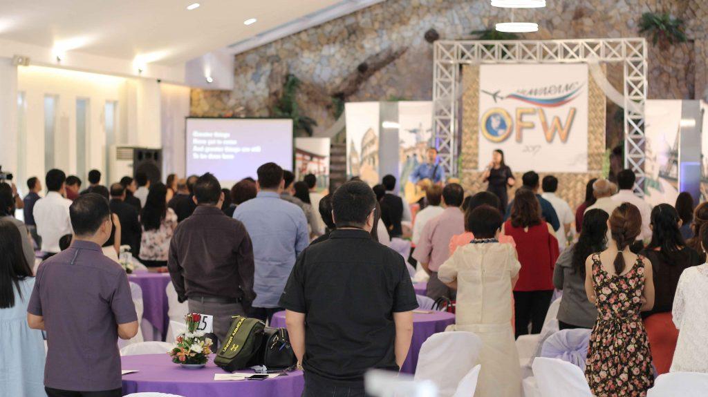 Huwarang OFW 2017 guests