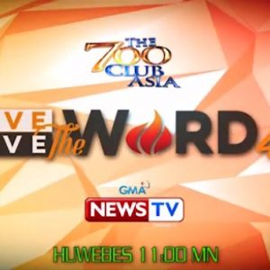 Love The Word, Live The Word 4.0 Day 9 Trailer (GMA News TV) | The 700 Club Asia