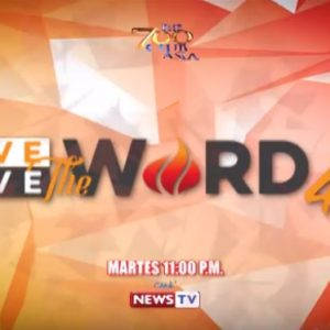 Love The Word Live The Word   Tuesday Gma News Tv