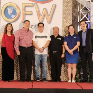 "Honoring the Unsung Heroes – CBN Asia Awards the ""Huwarang OFW 2017"""
