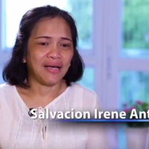 Back into the Arms of the One who First Loved You | Irene Antonio Story