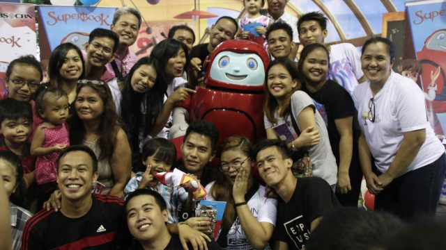 There's No Stopping the Fun! – Gizmo visits Marikina for the Superbook Caravan