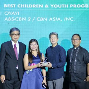 """Oyayi"" Bags the Best Children and Youth Program Award in the 39th CMMA"
