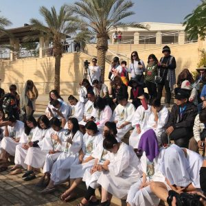 Baptism at Qasrl el Yahud