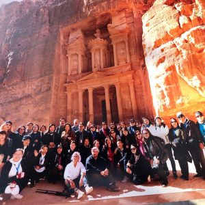 Group Photo in Petra, Jordan