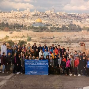Group Photo in Mount of Olives