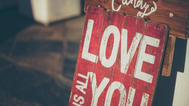 """Getting the Message, """"I Love You,"""" Across 