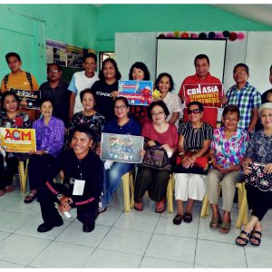 Retired Professionals attend the Basic Counseling Training   CBN Asia Prayer Center