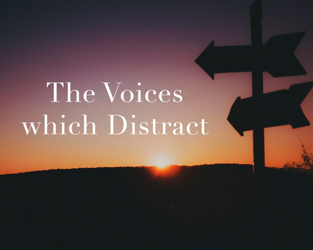 The Voices which Distract