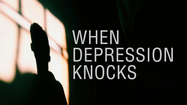 When Depression Knocks   God's Word Today