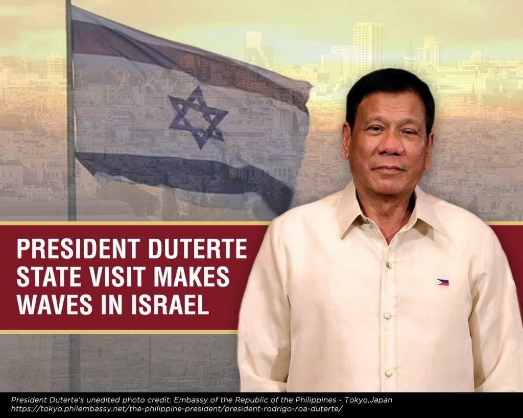 Duterte Visits Israel copy