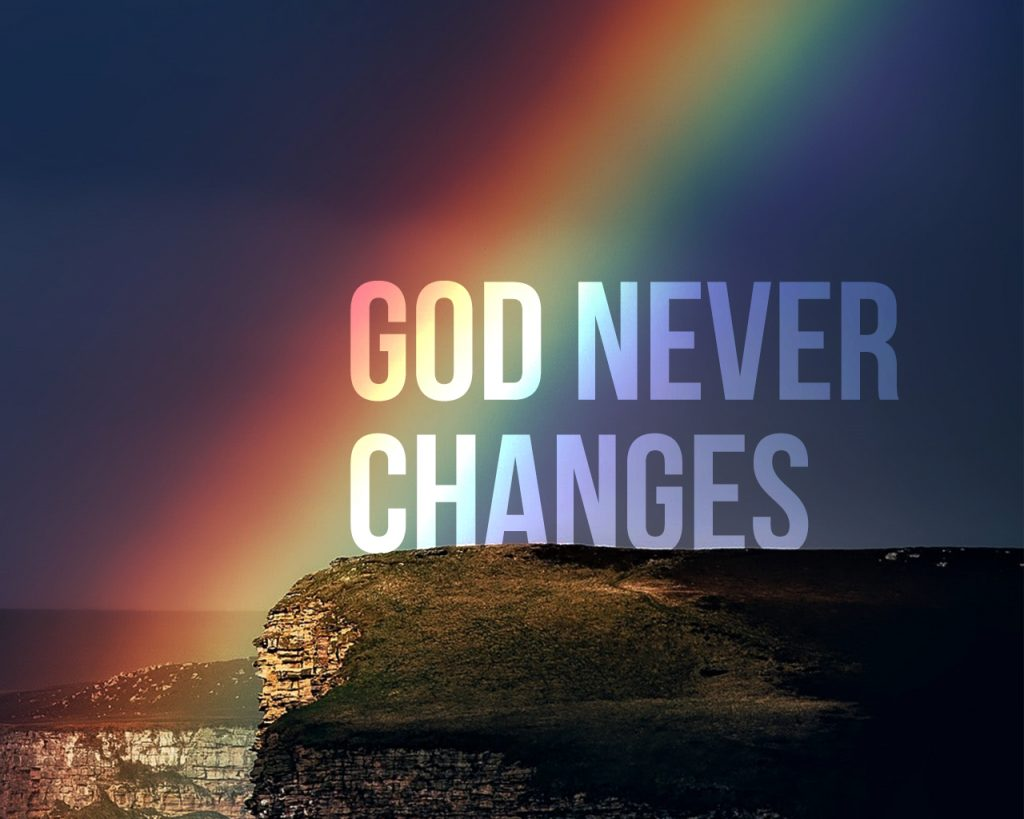 Resultado de imagem para God's unchanging nature is our security during seasons of change.