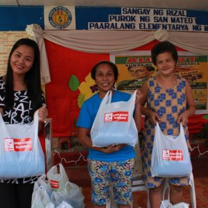 Operation Blessing Distributed Relief Goods in San Mateo, Rizal