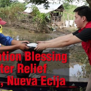 Operation Blessing Provides Disaster Relief in Licab, Nueva Ecija