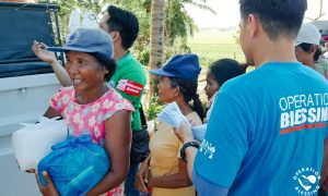 OB Disaster Response Team Distributed Relief Packs to Ompong Victims in Cagayan Valley