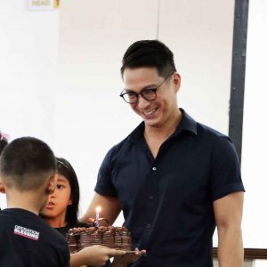 Francis Libiran partners with Operation Blessing to Bring Hope and Cheers to Military Kids