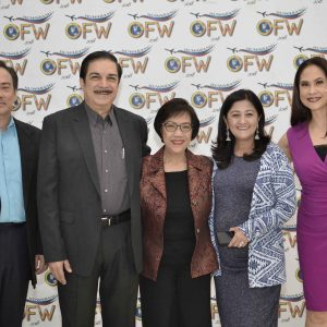 CBN Asia Awarded the Outstanding Huwarang OFW Winners 2018