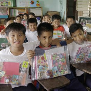 Operation Blessing Surprised the Students in Camalig, Albay