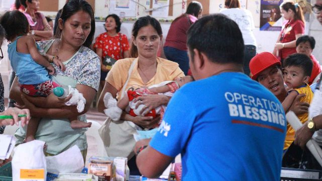 Operation Blessing Provided Medical Help in Payatas