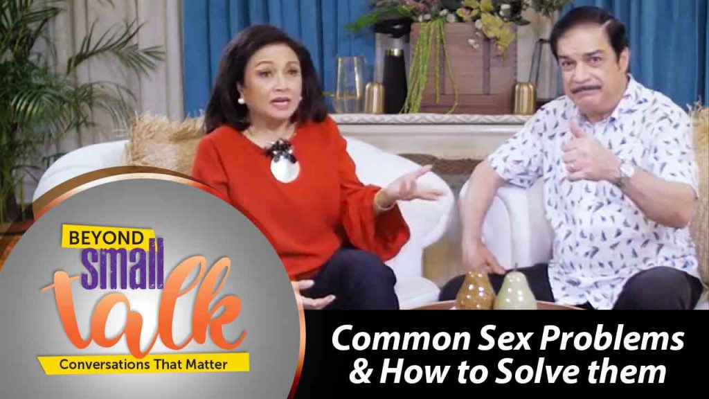 Beyond Small Talk Episode 7 - Common Sex Problems & How to Solve Them