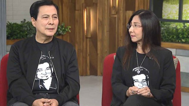 Facing Grief from the Death of their Son – Tirso Cruz III and Wife Lyn